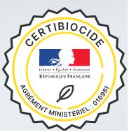 certification certibiocide